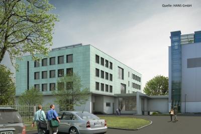 Neubau Büro- und Verpackungsgebäude