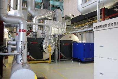 MGT und Dampfkesselanlage